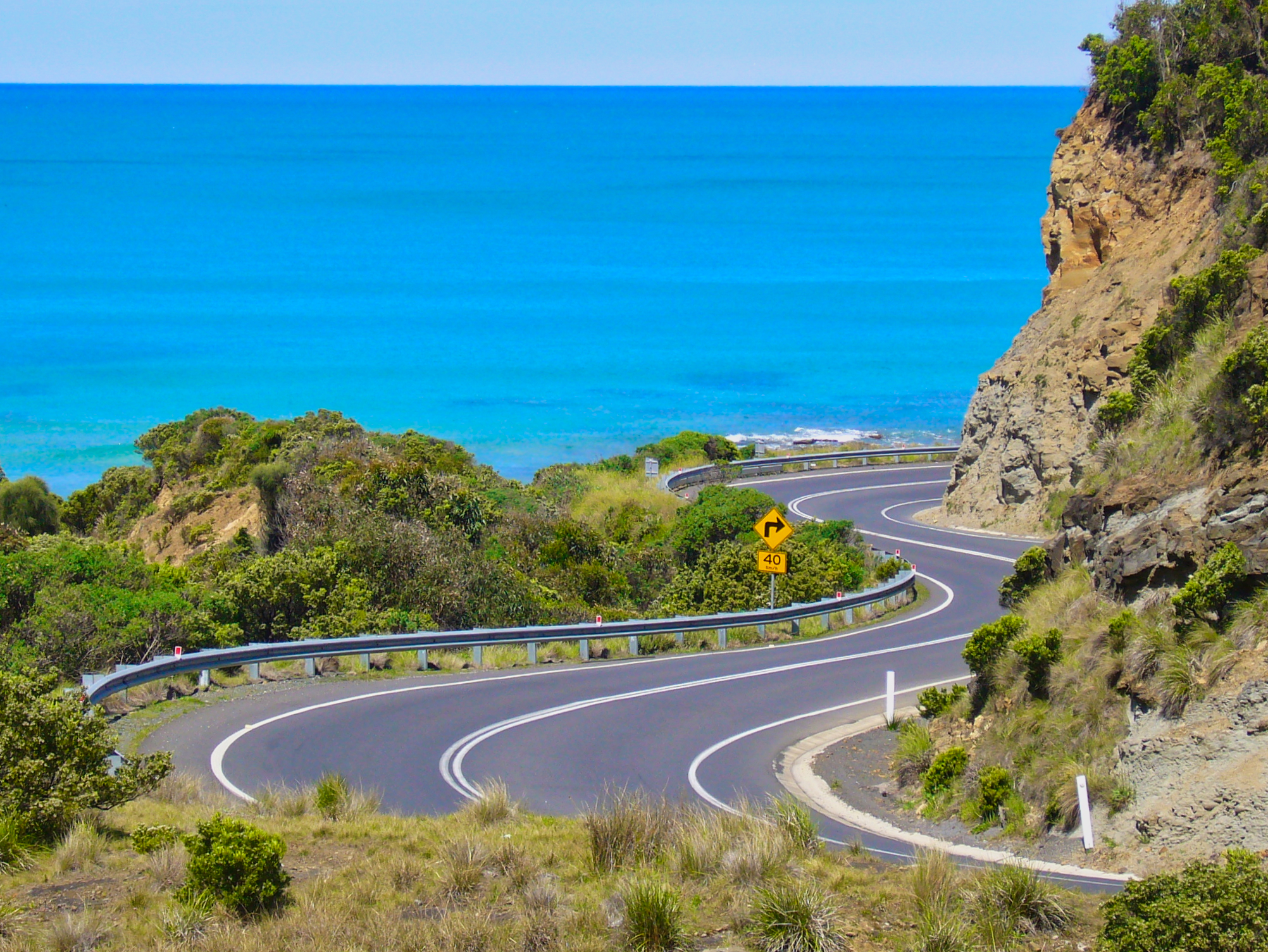 Australia's best motorcycle roads  Great Ocean Road